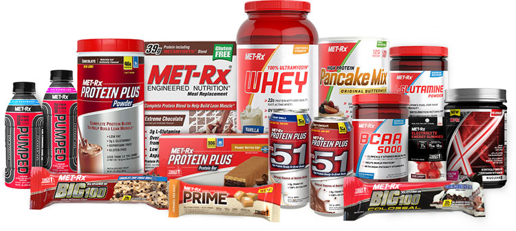 Welcome to the NEW MET-Rx® Online Store!