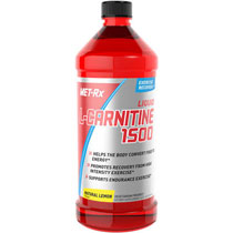 Liquid L-Carnitine 1500 with Vitamin B5 - Natural Lemon Muscular Energy Formula - Buy Now