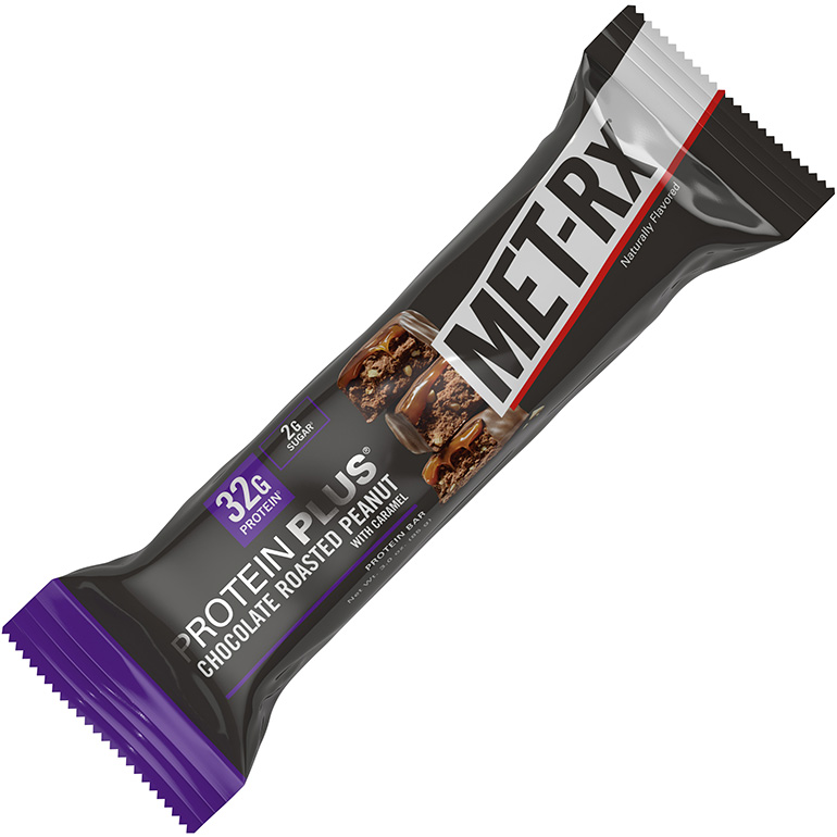 Protein Plus Chocolate Roasted Peanut with Caramel