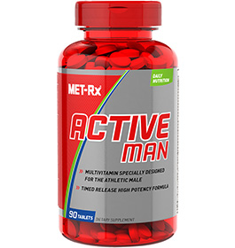 Related Product - Active Man Multivitamin - click for more information or to buy now