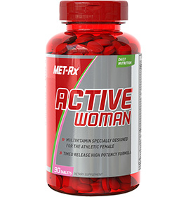 Active Woman Multivitamin - Click for More Information